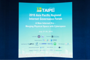 2016 Asia Pacific Regional Internet Governance Forum Opening Plenary