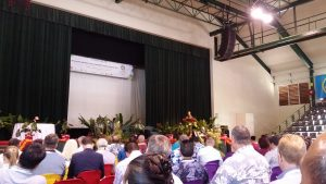 The Prime Minister of the Cook Islands opening the PITA conference on Rarotonga