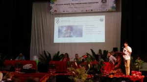 One of the plenary sessions at the PITA Conference held on Rarotonga